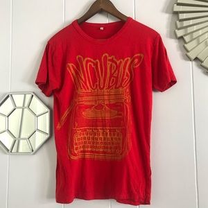 Incubus Red Band T-shirt S